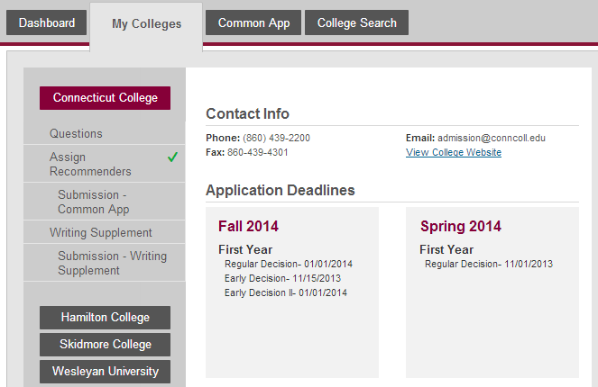 can you submit different common app essays